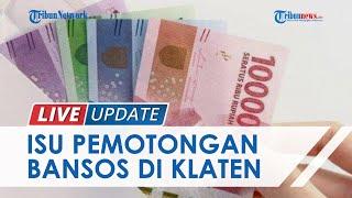 Muncul Isu Pemotongan BST dari Kemensos di Klaten, Ini Fakta dari Penjelasan Dinas Sosial