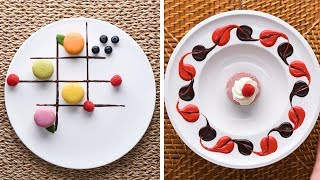 Make It Fancy With These 10 Easy Plating Hacks! Elegant Desserts by So Yummy