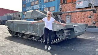 HOW TO DRIVE A TANK!