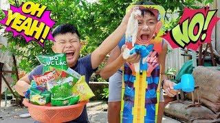Trò Chơi Bé Vui Đồ Ăn Bí Mật ❤ ChiChi ToysReview TV ❤ Đồ Chơi Trẻ Em kids Fun Song