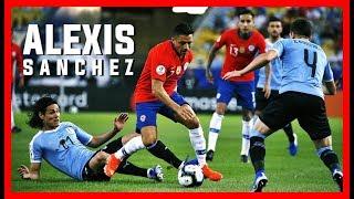 Alexis Sánchez Bailando A Uruguay (Relato Latino - 24/06/2019) HD