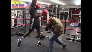 """Donta Hill, 6'6"""" Boxer - Tips on using your reach and height"""