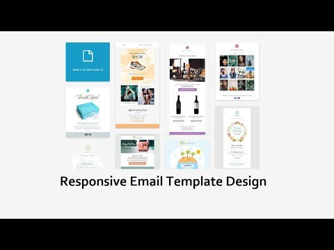 How To Create A HTML Email Template   Responsive Email Template Design