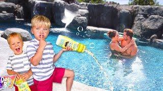 Bubble Bath Swimming Pool Prank!! 🛁 (WHAT HAPPENS??)