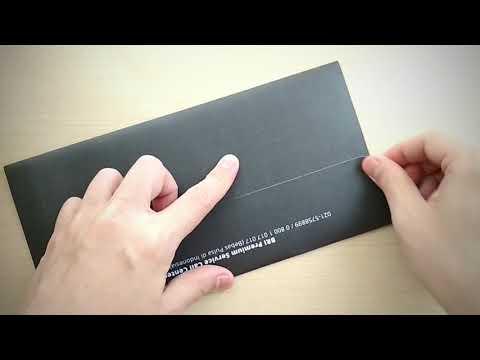 Unboxing BRI Visa Infinite Credit Card