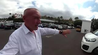 360 VR видео Тенерифе: Экскурсионный минибус Citroen Space Tour