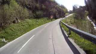 preview picture of video 'Trogen Landmark St. Anton Oberegg, Moto Guzzi Griso 8V SE / V7 Classic'