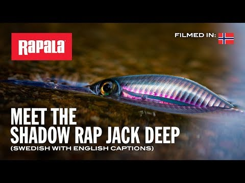 Воблер RAPALA SHADOW RAP JACK DEEP SDRJD05-CLN фото №1