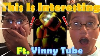 Greenninjatale & VinnyTube Reacts To Game Theory We Were Right All Along FNAF By The Game Theorist
