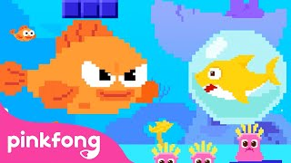 8 Bit Baby Shark   Nursery Rhymes   Pinkfong Songs for Children @Baby Shark Official