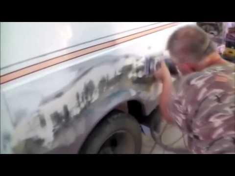 ГАЗЕЛЬ, ремонт ржавого кузова.