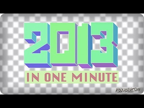 This Animation Tries Put Everything That Happened In 2013 Into One Minute