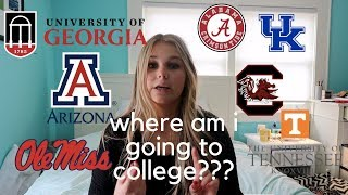 where am i going to college? 2018 college reveal