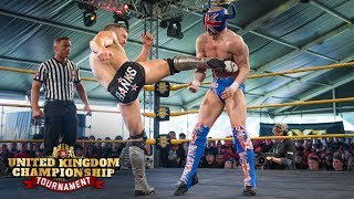 FULL MATCH - Ligero vs. Travis Banks - WWE U.K. Championship Tournament First-Round: June 15, 2018