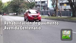 Obras por Valorización Avenida Centenario
