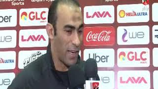 """سيد عبد الحفيظ عن فوز على انبى """" فى حد اعترض على هدف الاهلى +90 """""""