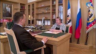Глава Поддорского района попросила Андрея Никитина помочь в оздоровлении крупного рогатого скота