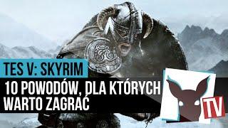 Skyrim - 10 powodów, dla których warto zagrać (60 FPS, recenzja) | ZagrajnikTV