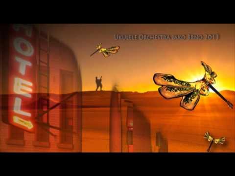 Ukulele Orchestra jako Brno - UOjB - Desert Rose