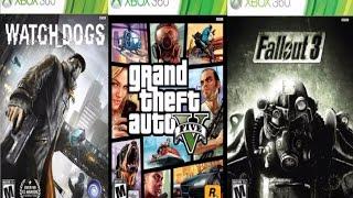 أفضل 10 ألعاب XBOX 360 يجب ان تلعبها !!!