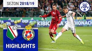 Legia Warszawa - Wisła Kraków 3:3 [skrót] Sezon 2018/19 Kolejka 12