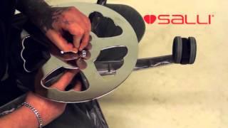 Ножной механизм регулировки высоты от компании ErgoLife - видео 2