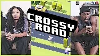 THERE SHE GO...CHEATING AGAIN! - Crossy Road | Mobile Series Ep.6