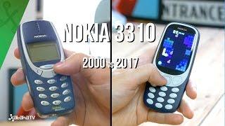 Nokia 3310 vs Nuevo Nokia 3310: sus mejoras 17 años después