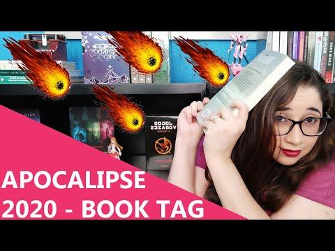 APOCALIPSE 2020 - BOOK TAG ☄�💥🌎📚 | Biblioteca da Rô