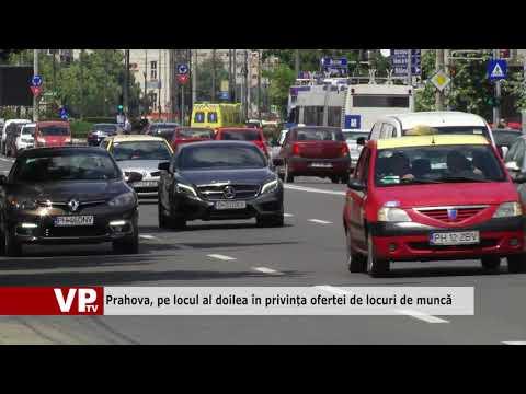 Prahova, pe locul al doilea în privința ofertei de locuri de muncă