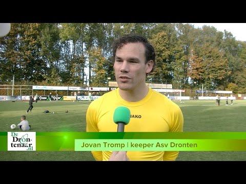 VIDEO | Asv Dronten-doelman Jovan Tromp kijkt uit naar pot tegen z'n oude club