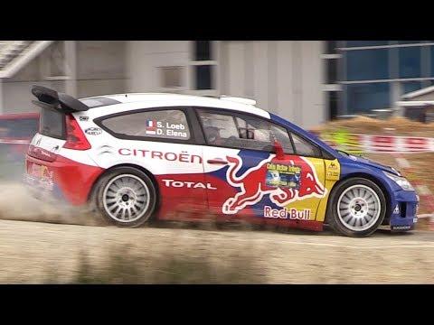 RallyLegend 2017 Sunday' Show & Burnouts w/ Sébastien Loeb, Thierry Neuville & More!