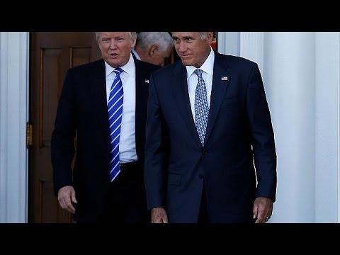 HΠΑ: Έντονες φήμες για υπουργοποίηση του Μιτ Ρόμνεϊ-Συναντήθηκε με τον Τραμπ