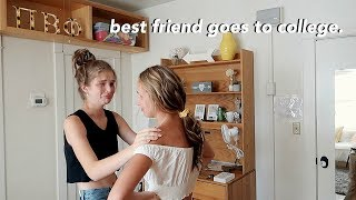 moving my best friend into college.