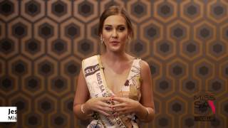 Introduction Video of Jessica Tovey Miss South Africa 2017 Contestant from Randpark Ridge, Gauteng