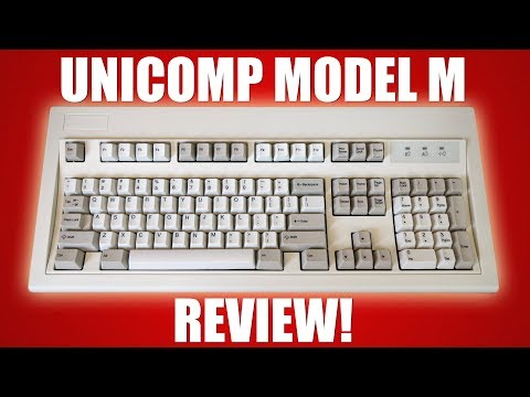 Unicomp Model M Keyboard Review!