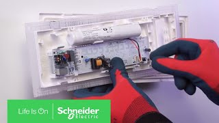 How to Install Exiway Easyled Emergency Lighting in Permanent Mode