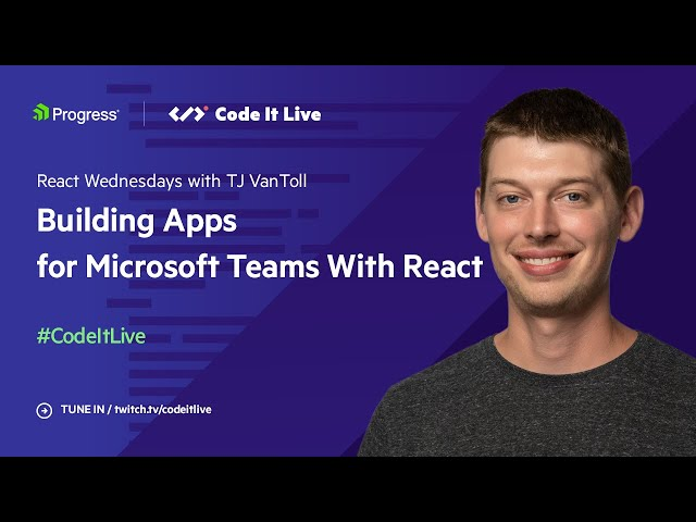 Building Apps for Microsoft Teams with React