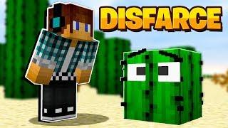 ESCONDE-ESCONDE COM DISFARCE DE CACTO NO MINECRAFT !! - ( Minecraft Esconde-Esconde )