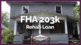 What is the FHA 203k Rehab Loan with Ty The Mortgage Guy