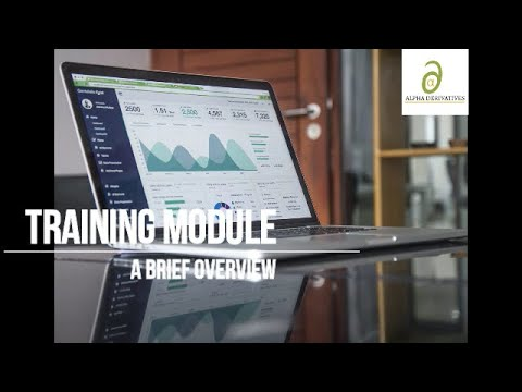 Derivatives Research Training Module - Brief Overview - YouTube