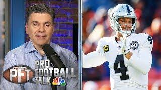 PFT Overtime: Derek Carr's future in Vegas, Herbert-Dolphins | Pro Football Talk | NBC Sports