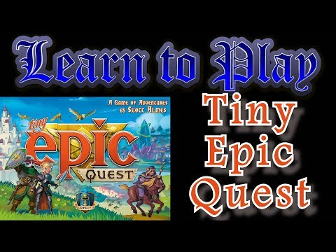 Learn to Play: Tiny Epic Quest