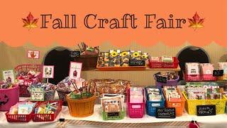 My Fall Craft Fair 2018