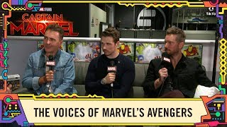 Troy Baker, Nolan North, and Jeff Schine talk Marvel's Avengers LIVE at SDCC 2019!
