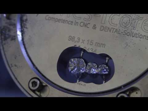 CORiTEC 350i (loader) metaal frezen