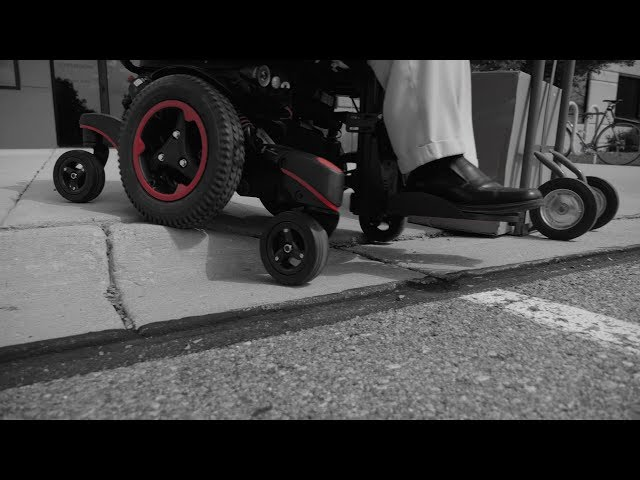 Quickie Jive Q700M SEDEO PRO Power Chair Wheelchair Mid-Wheel Sunrise Medical Video