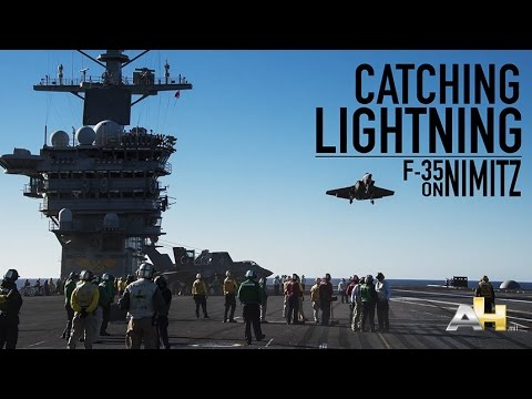Catching Lightning F-35C