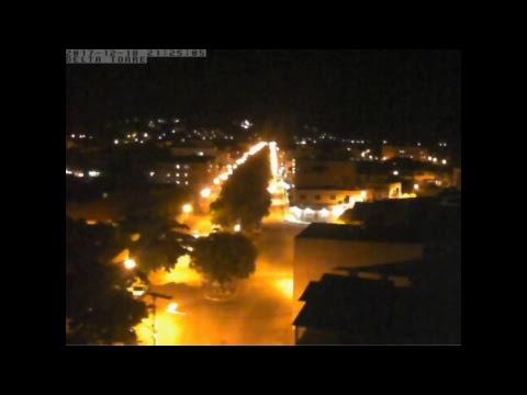 Noite de segunda-feira (18) em Aimorés - MG. Noite linda e maravilhosa com temperatura de 27°C