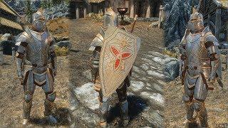 skyrim how to get the paladin armor